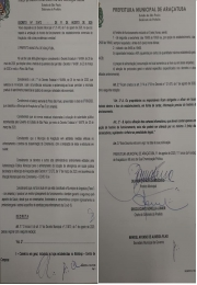 Atenção novo Decreto Lei Municipal sobre os Horários do Comércio em Araçatuba