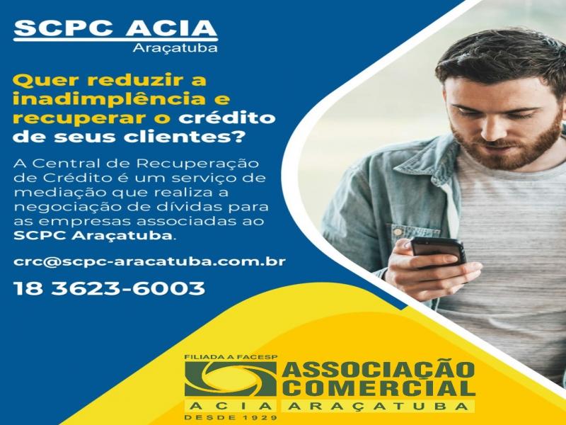 Recuperação de crédito SCPC